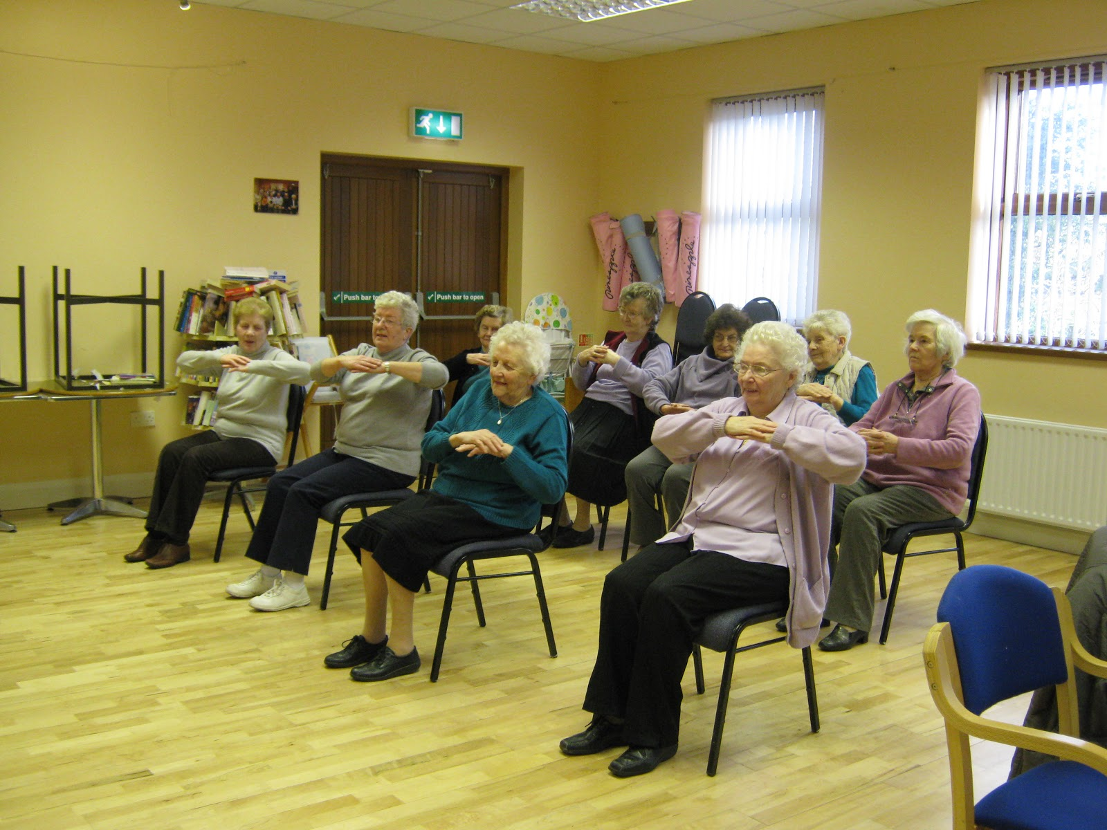 Dromboughil community association february 2013 for Chair zumba