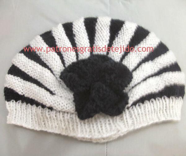 Gorro casco ruso tricot
