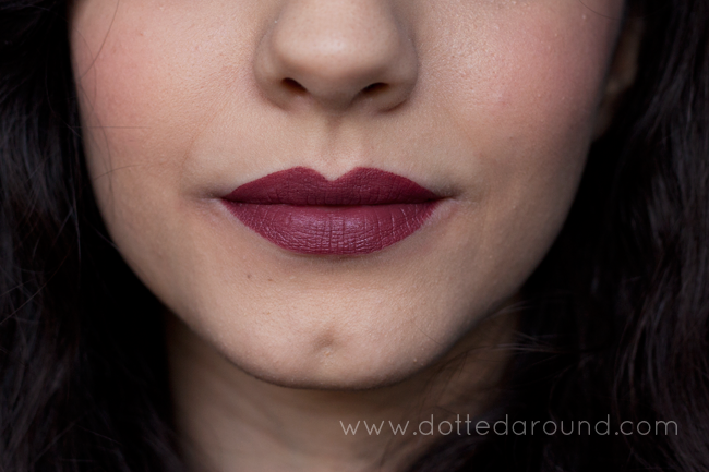 Dotted Around: My favorite winter lipsticks | swatches