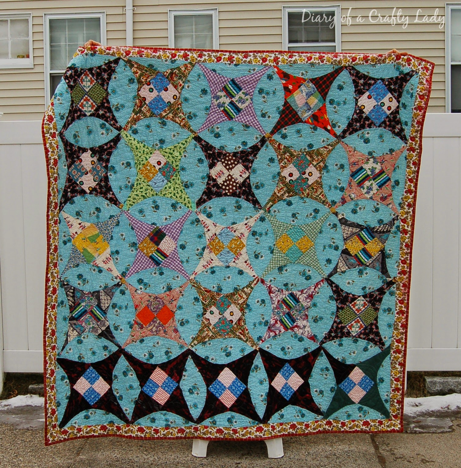 Diary of a crafty lady my love affair with antique quilt tops for What to do with an old quilt