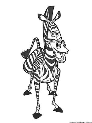 Marty Madagascar Zebra