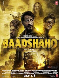 Baadshaho (2017) Hindi Movie 480p DVDRip [400MB]