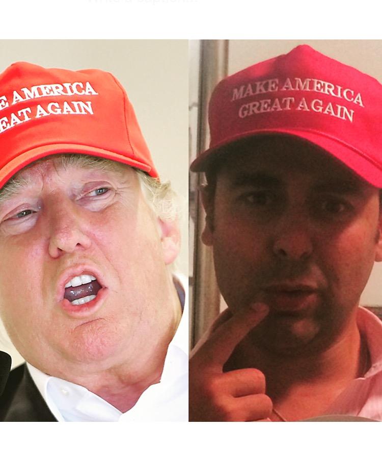Madison Avenue Spy  The IT-it  Trump Trucker Hat d3072469789