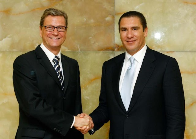 Gobernador se reúne con ministro alemán