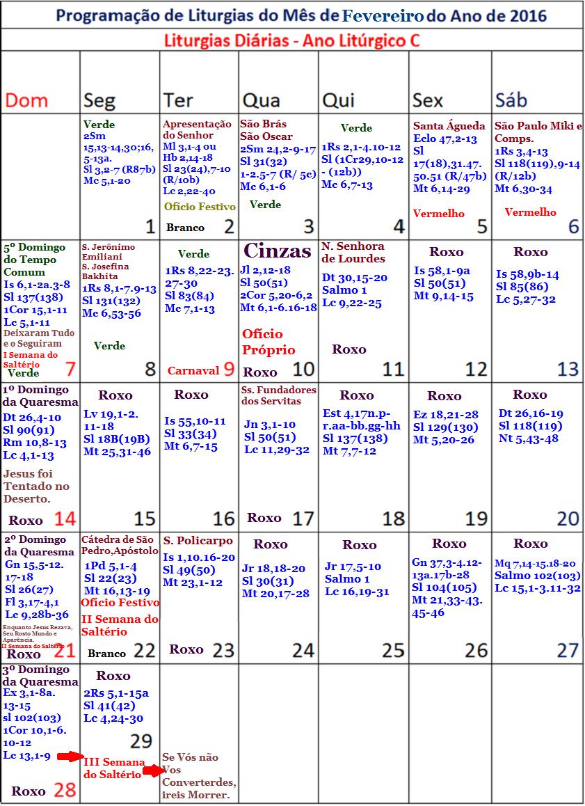 calendario liturgico 2015 argentina lecturas