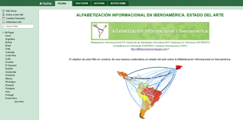 Wiki ALFIN/Iberoamrica