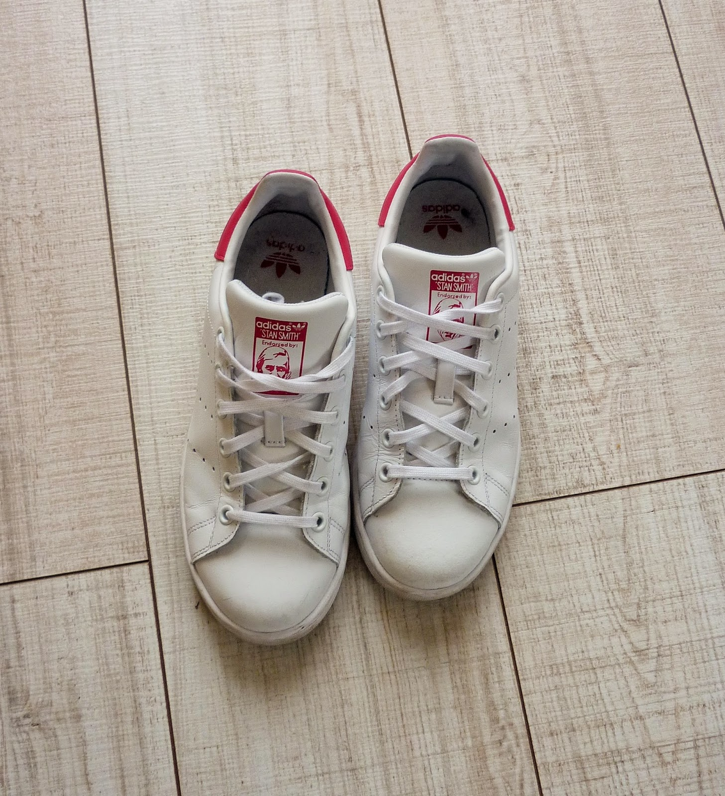 Adidas Stan Smith roses - baskets - shopping