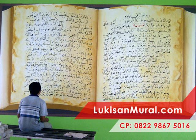 Lukisan Mural Kaligrafi