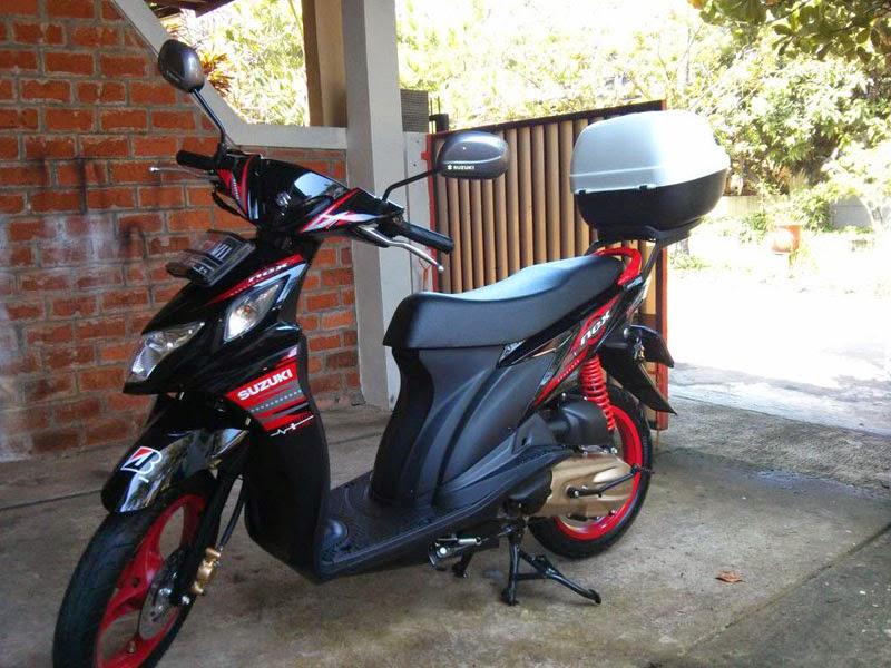 Modifikasi Motor Suzuki Nex Touring