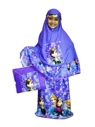 Mukena Anak Frozen - KODE UNF02