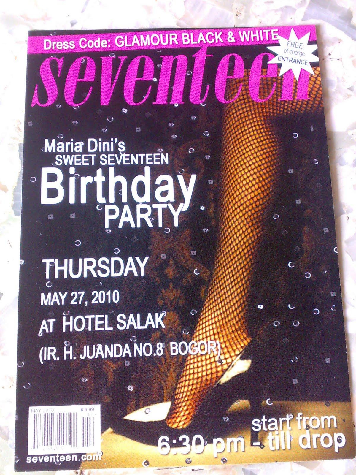 Birthday party invitations for teenagers birthday party birthday party invitations for teenagers sweet seventeen birthday stopboris Choice Image