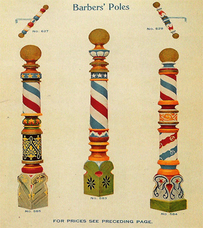 Antique Barber Picture