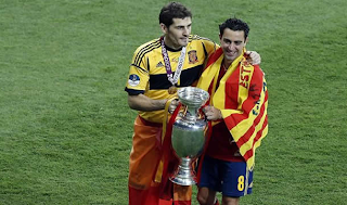Las figuras de España hablaron del titulo europeo
