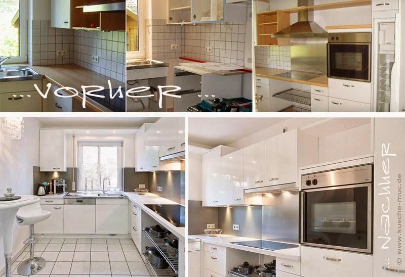 Wir Renovieren Ihre Küche Kuechenrueckwand - Küchenwand statt fliesen