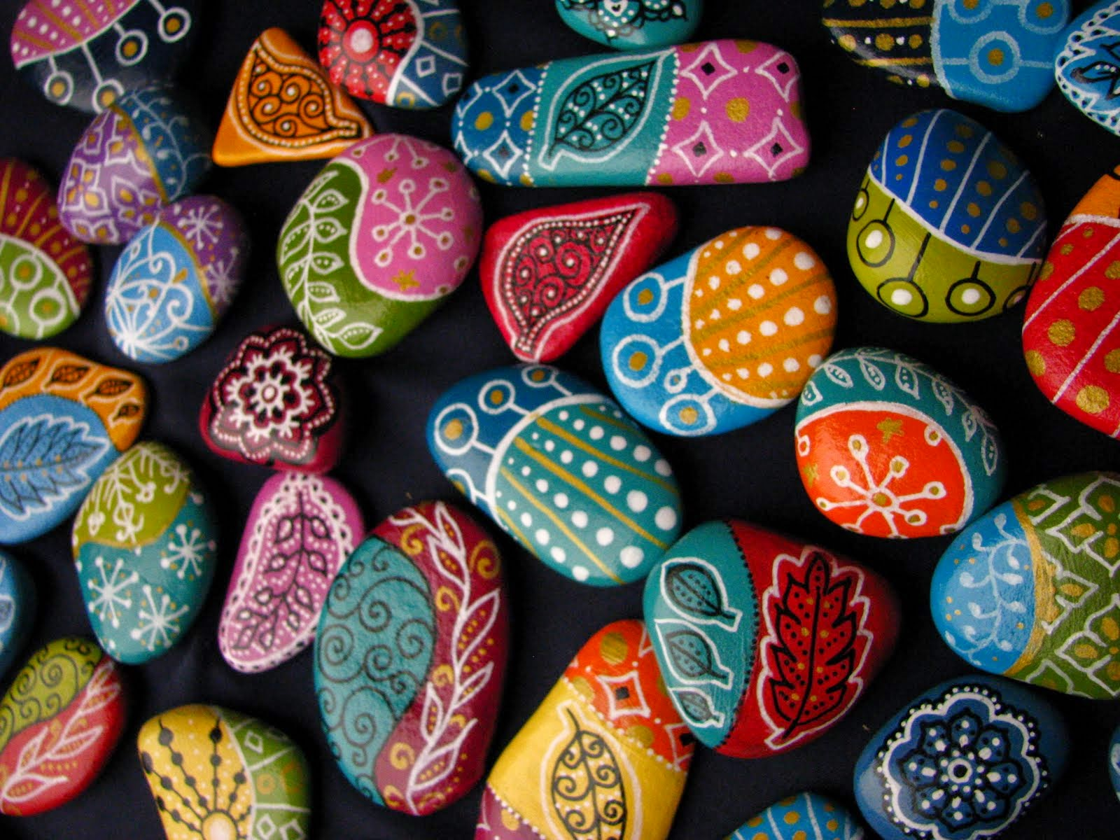 rock painting ideas for home decor art craft gift ideas