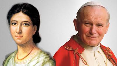 Carta do Papa João Paulo II pelo bicentenário do Nascimento de Paulina Jaricot