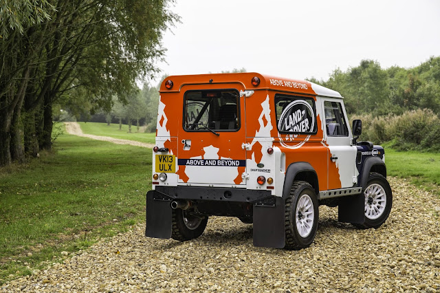 Bowler Defender Challenge Car