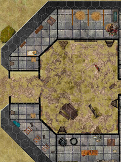 Virtual Tabletop map for Roll20