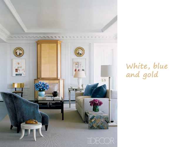 White and gold living room for White and gold living room ideas
