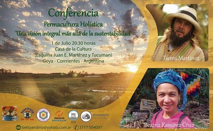 Conferencia Permacultura Holistica