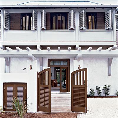 La la linen painted front doors by coastal living for Coastal living exterior paint colors
