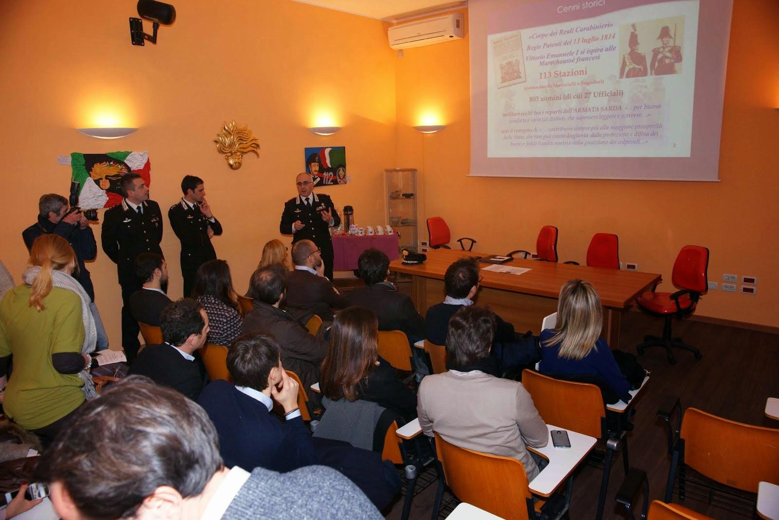 I Carabinieri incontrano l'Ordine dei giornalisti di Puglia