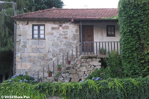 Granite-walled house in Arouca