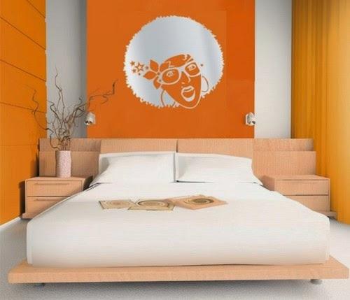 DECO CHAMBRE INTERIEUR: Conceptions chambres à coucher avec l\'orange