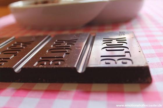 Bruchschokolade Zutaten selbstgemacht