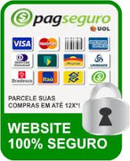 Qualidade e Entrega Garantidas pelo PAGSEGURO