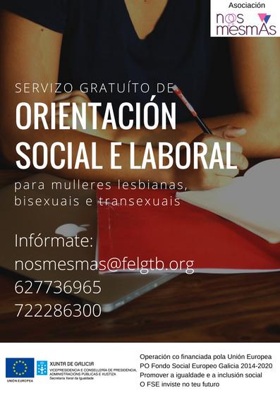 Orientación social e laboral