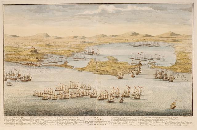 batalla Cartagena de Indias