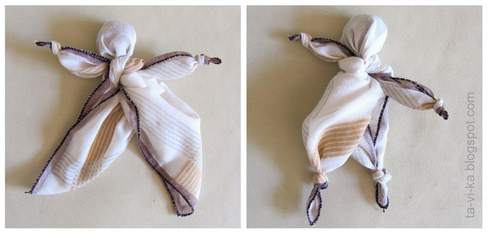 Мастер класс кукла из платков своими руками