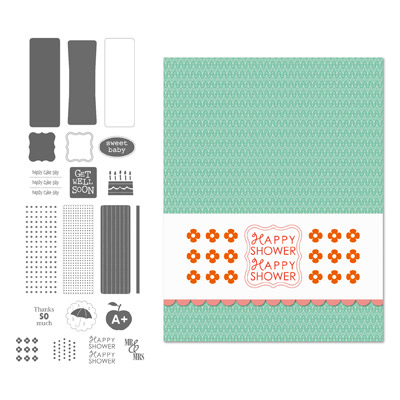 Digital Stamp Brush Set for Cards & Labels - Various Occasions