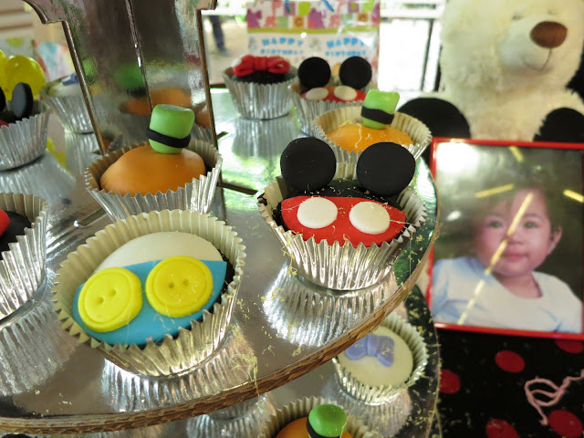 mickey, cupcake, birthday party, Disney