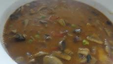 Mushroom Green Peas Gravy