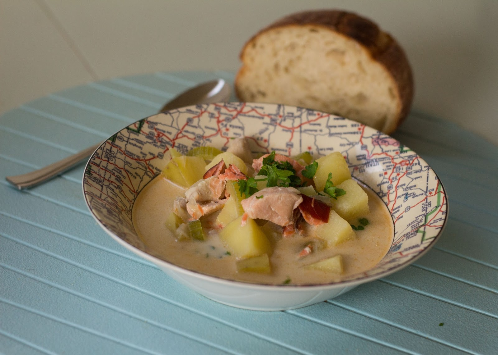 Nerd and healthnut irish fish chowder for Irish fish recipes
