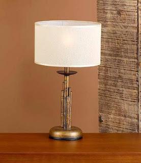 lampara de mesa colonial, lampara de mesa dorada, lampara para mesa