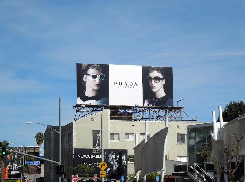 Prada eyewear spring 13 billboard