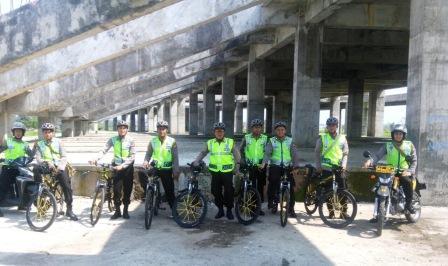 Patroli Sepeda Sat Sabhara Polres Tasikmalaya