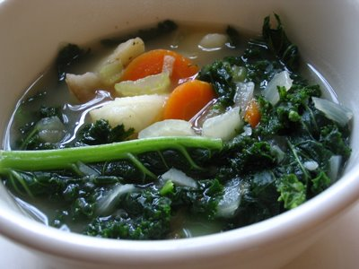 Kale and Vegetable Soup | Lisa's Kitchen | Vegetarian Recipes ...