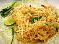 Pad thai de creveti