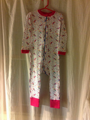 Toddler PJs by my amazing mom