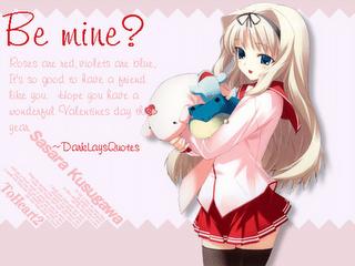 Anime Valentine Card Anime Happy Valentine Love Gallery