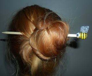 Tie Your Hair Back With a Pencil