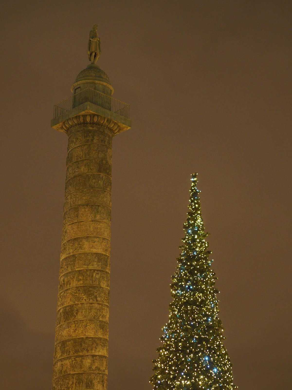 Place Vendome at Christmas time, Paris