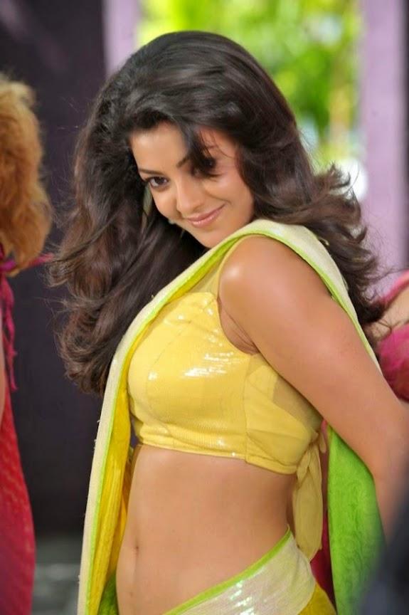 Bollywood actress kajal agarwal hot skils photo