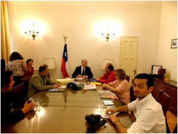Semenado novos rumos sembrando nuevos senderos encuentro for Oficina xestion de multas concello de santiago