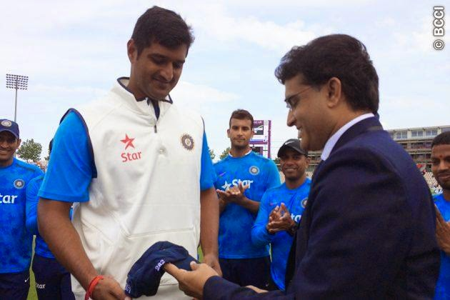 Pankaj-Singh-Test-Debut-England-v-India-3rd-Investec-Test