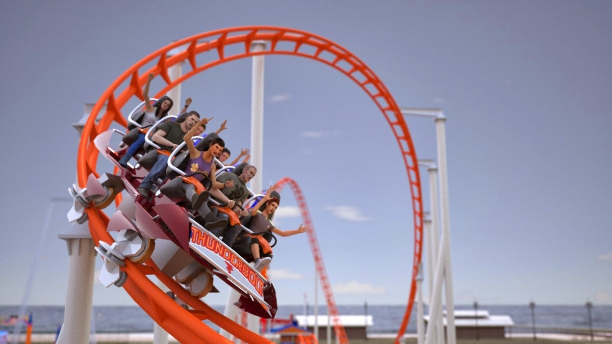 Coney Island  Roller Coaster